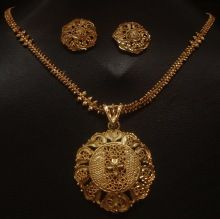 Indian Wedding Antique Gold Plated