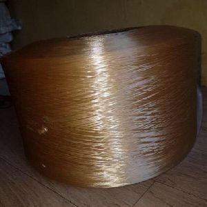 Brown Polyester Yarn