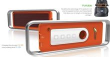 Solar Mobile Charger With Light