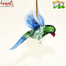 Ornament Glass Bird Figurines
