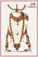 Arabic Polki Bridal Jewelry Set