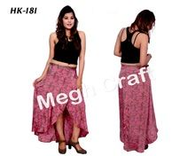 Bohemian Gypsy Ibiza Skirt