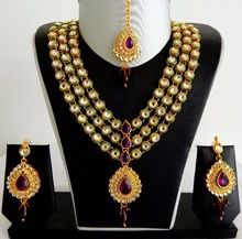 Handmade Kundan Necklace Set