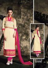 Long Straight Pakistani Girl Suit