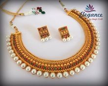 South Indian Pearl Jewellery