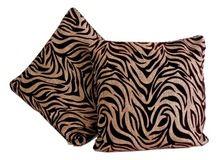 Velvet And Jute Material Cushion Cover
