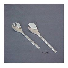 Aluminum Salad Spoon Set