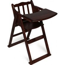 Wood Baby High Chair