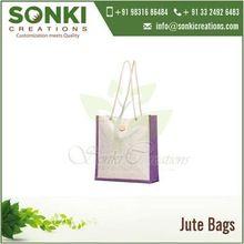 Eco Friendly Laminated Jute Bags