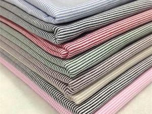 Cotton Yarn Dyed Stripe Fabric