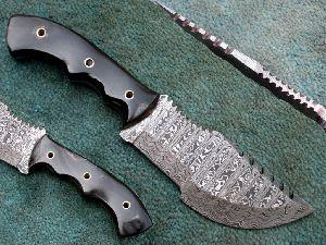 Hk-457 Damascus Steel Hunting Knife