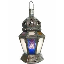 Moroccan Style Candle Lamp