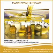 Base Oil Lubricants