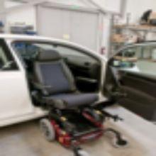 Handicapped  Wheelchair Seat