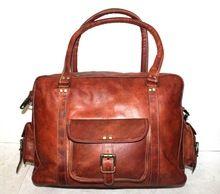 Leather Mini Luggage Bag