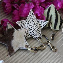 Suede Leather Handmade Key Chain