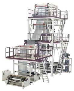 Multilayer (abc And Ab Type) Blown Film Extrusion Machine