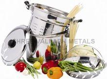 Multi Layer Stainless Steel Pasta Steamer Pot Set