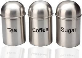 Stainless Double Wall Sugar Pot
