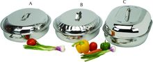 Stainless Oval Curry Dish