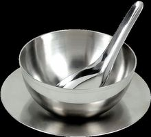 Stainless Steel Double Walled Candy Bowl