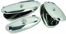 Stainless Steel Oval Serving Dishes
