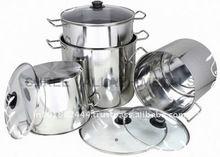 Stainless Steel Pasta Cooker Multi Pot Steamer