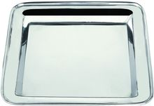 Tainless Steel Deep Compartment Fast Food Tray