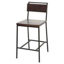 iron metal Bar stool