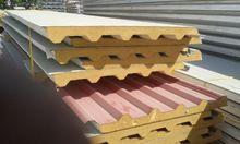 Cladding insulated sandwich panels