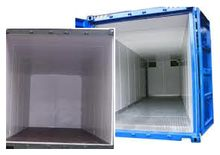 container insulation panels