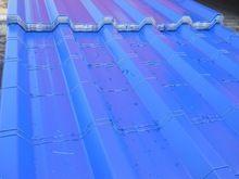 Single skin Metal Roofing
