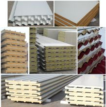 Wall and roof insulated panels