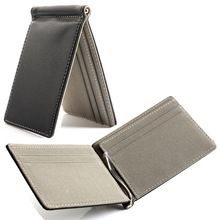 Money clip wallets in Brown and Black