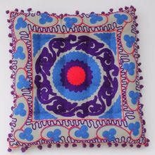 Back Rest Embroidered Cushion