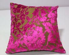 Burnout Velvet Bed Decorative Cushion Covers