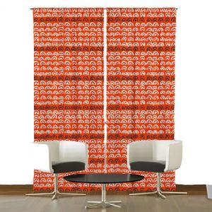 Printed Window Door Curtain