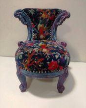 upholstered velvet chairs