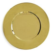 Metal Material Charger Plate