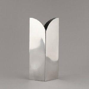 Metal Material Square Flower Vase