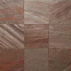 Copper Red Slate Stone