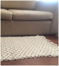 Macrame Cotton Rug