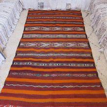 Moroccan Berber Hanbel Kilim Rug