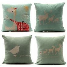 Simple Linen Cushion Cover