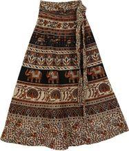 Elegant Wrap Around Skirts