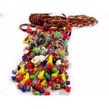 Handmade Banjara Boho Tribal Handbag Tassels Key Chain