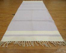Indian Chindi Rag Rug Hand Woven Dari Cotton Rug