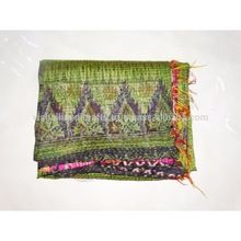 Indian Vintage Silk Stole And Scarf Long Reversible Dupatta Silk
