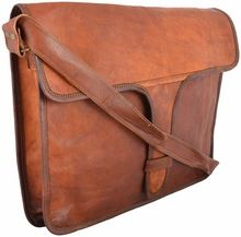 Real Goat leather cross body bag