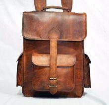 Rucksack handmade Real leather